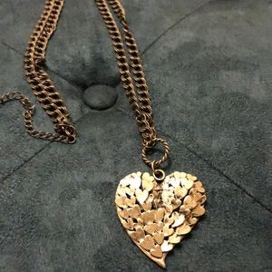 Stainless steel necklace.
